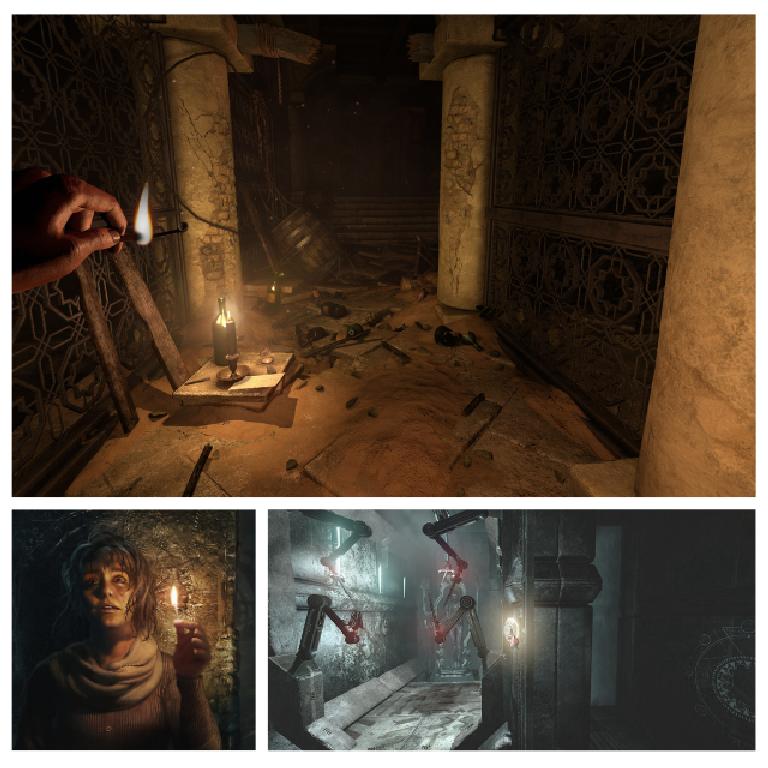 Hra: Amnesia: Rebirth