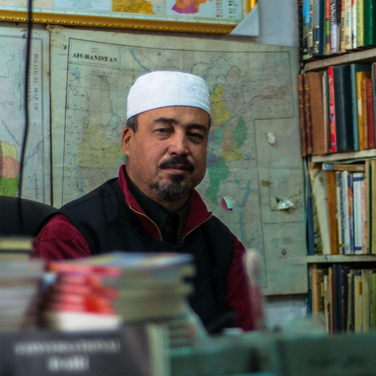 Afghánský knihkupec